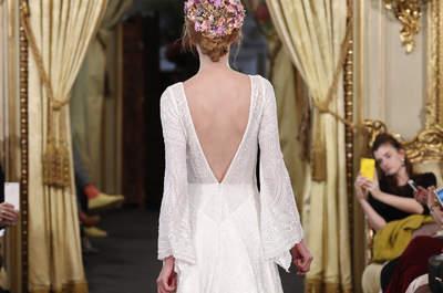 Vestidos de noiva com decote nas costas: lindos e super atuais!