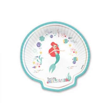 Plato concha de la sirenita 4 pz- Compra en The Wedding Shop