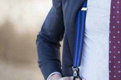 Sofisticados accesorios para el novio. ¡Distinción en cada detalle del look nupcial!