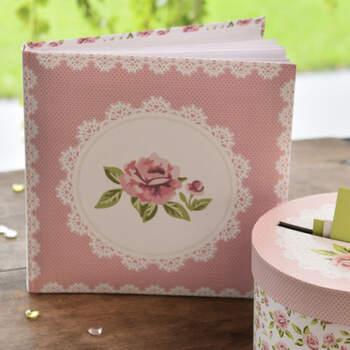 Libro De Firmas Rosas- Compra en The Wedding Shop