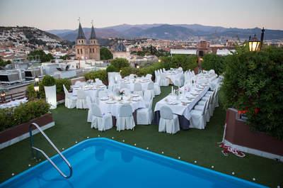 Celebra tu boda en Hotel Carmen y disfruta de la belleza de La Alhambra
