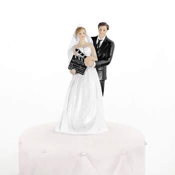 Cake Topper Conjoints Cinéma - The Wedding Shop !