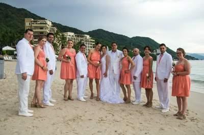 Real Wedding: Die exotische Strandhochzeit von Nicole und Chris in Mexico
