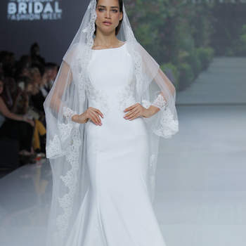 Ana Torres. Créditos: Barcelona Bridal Fashion Week