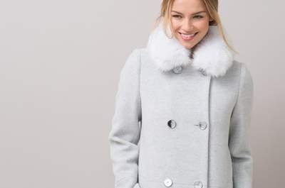 30 manteaux pour un mariage d'hiver... Choisissez le vôtre !