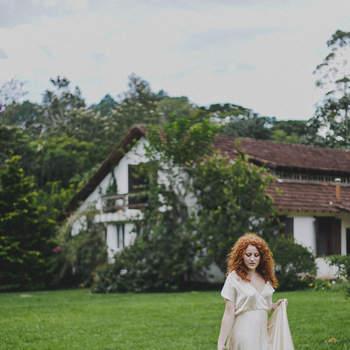 A assessora Nici Guedes escolheu a pousada A Casa É Sua como cenário do editorial. Foto: Thay Rabello Fotografia