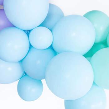 Globos Azul Pastel de varios tamaños- Compra en The Wedding Shop
