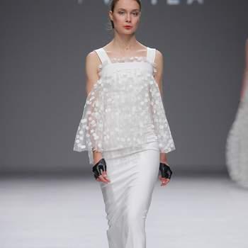 Sophie et Voilà | Credits: Valmont Barcelona Bridal Fashion Week