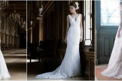 Colección Cymbeline 2017: vestidos contemporáneos para novias modernas
