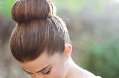 La tendencia top del 2015: 15 hermosos recogidos para que tu peinado de novia sea la sensación