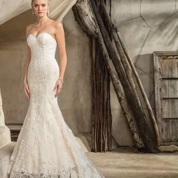 Style 2292 Sedona. Credits- Casablanca Bridal.