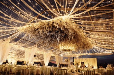 Inspiration for your high-drama themed wedding brought to us by Label'Emotion