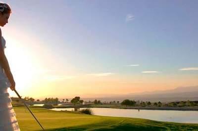 ¡Cásate en un campo de golf! Convierte tu boda en un espectáculo original en plena naturaleza
