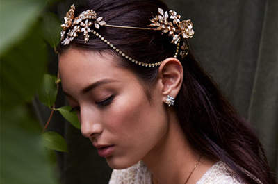 21 Hair Accessories for Winter Brides 2017