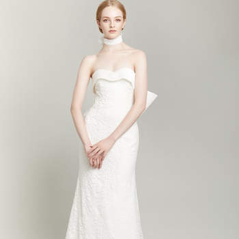 Kleider: The Soniat, Credits:  New York Bridal Week