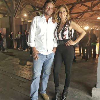 Liliana Campos e o marido   Foto via Instagram @lilianacamposoficial