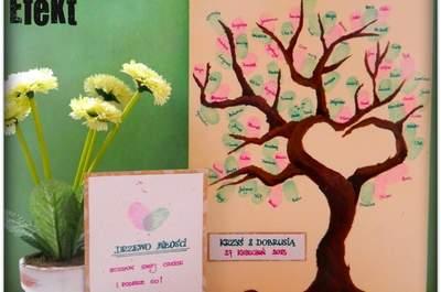 DIY: cómo hacer un libro de invitados pintado a mano para tu boda