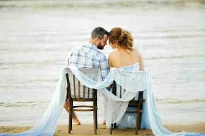 Годовщина свадьбы Анастасии и Вадима в морской тематике