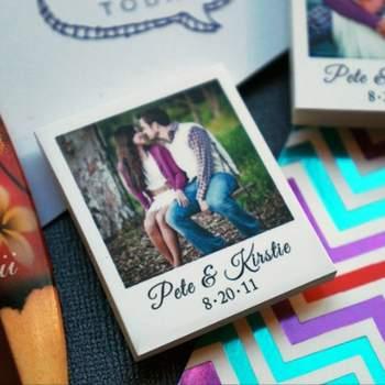 Save the Date polaroid en aimant Boutique MiniPolaroidMagnets sur Etsy.com