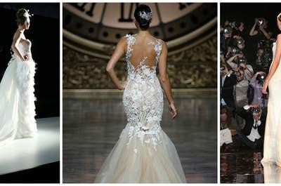 Derroche de sensualidad y elegancia en el desfile Pronovias 2016