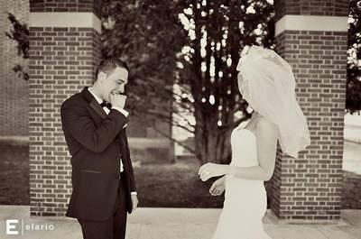 Les 5 plus belles réactions de mariés découvrant leur dulcinée le Jour-J