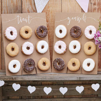 Panel de Donuts para el Candy Bar- Compra en The Wedding Shop
