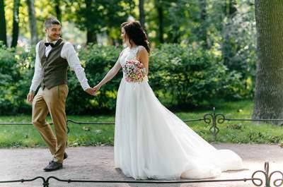 Яркая свадьба Елены и Михаила в Санкт-Петербурге