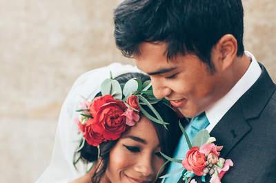 14 formas geniales para combinar con tu novio el día de la boda