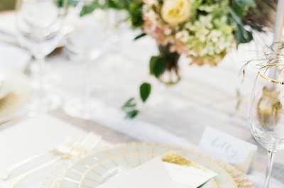 Elige la mejor vajilla para tu boda: porque los pequeños detalles marcan la diferencia