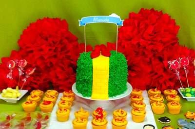 Süße Ideen für eine selbst gemachte Candy-Bar auf der Hochzeitsfeier