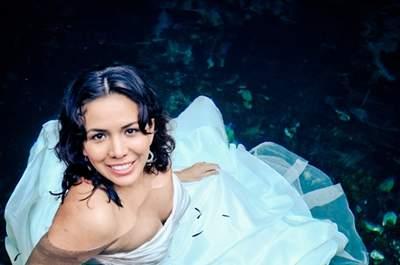 Escenarios bajo el agua para tu sesión de fotos Trash the Dress