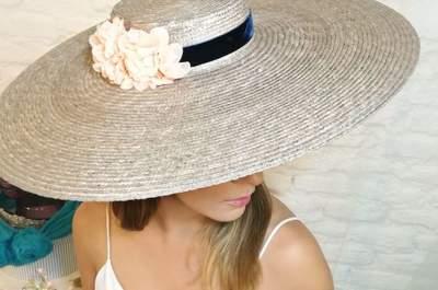 Pamelas para invitada: diseños elegantes para mujeres con estilo