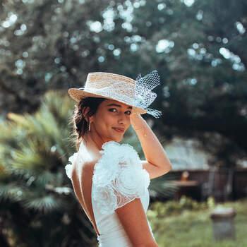Photo : Guillaume Gilles - Elsa Gary, robe de mariée Eternité