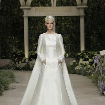 Pronovias. Créditos: Barcelona Bridal Fashion Week