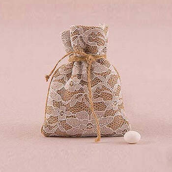 Bolsas Encaje Country 12 unidades- Compra en The Wedding Shop
