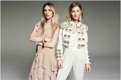 Elizabeth von Guttman e Alexia Niedzielski, le due designers di Ever Manifesto, in alcuni capi H&M Conscious Exclusive da loro creati