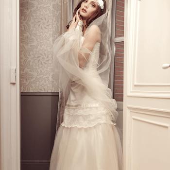 Robe de mariée Elsa Gary 2013, modèle Hiver. Photo: Elsa Gary