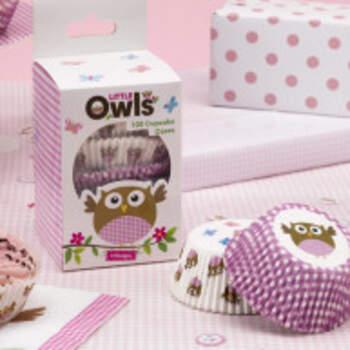 Moules A Muffin En Papier Baby Girl 100 Pièces - The Wedding Shop !