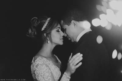 Casamento ao ar livre maravilhoso de Ingrid e Gustavo: show de fogos, uma super dança e muita animação!