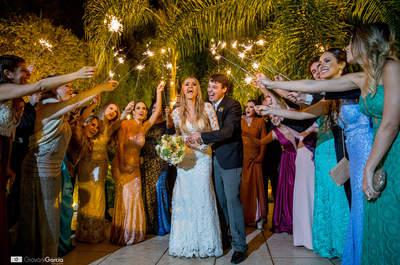 Casamento clássico de Francine e Mateus: ao ar livre na serra de Petrópolis!