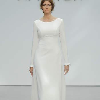 Vestido de noiva com decote canoa: o segredo para valorizar o seu colo e rosto!