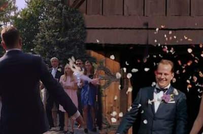 Roxana i Mateusz, skąd się bierze taka miłość? Piękny polski ślub!