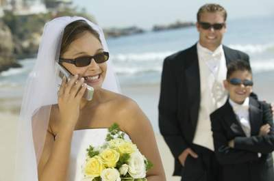 Hochzeit und Mobiltelefone – Lassen wir es bitte nicht so weit kommen!