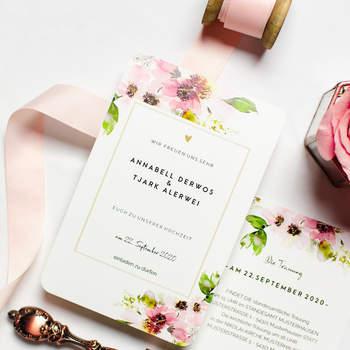 Hochzeitseinladung Annabelle und Tjark