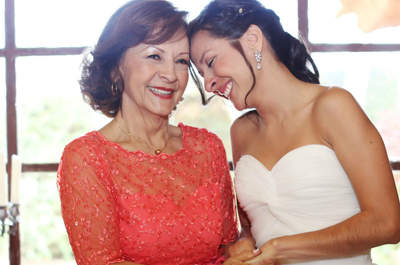 ¿Cómo manejar el estrés de la madre de la novia?