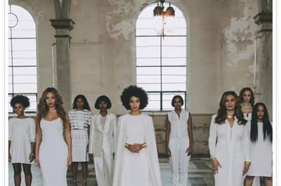 Solange Knowles e Alan Ferguson dão o nó de forma original!