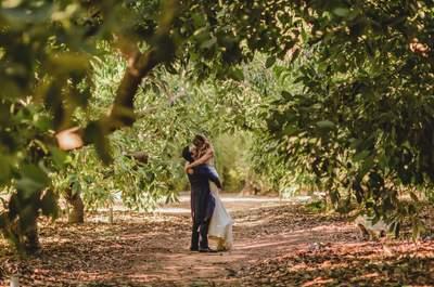 ¡Feliz cumpleaños!: la boda de Julia y Rafa