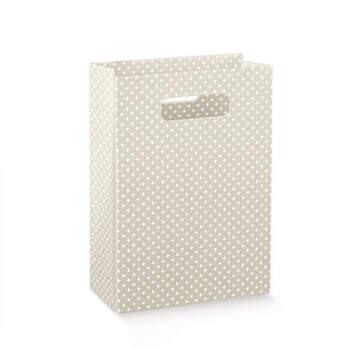 Wedding Bags Gris Con Lunares 10 unidades- Compra en The Wedding Shop