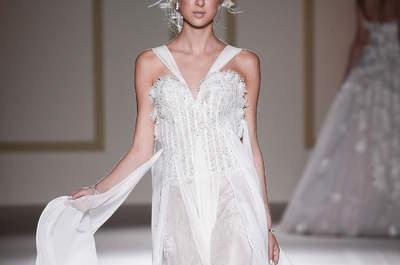 Vestidos de novia de tul: la tendencia más romántica