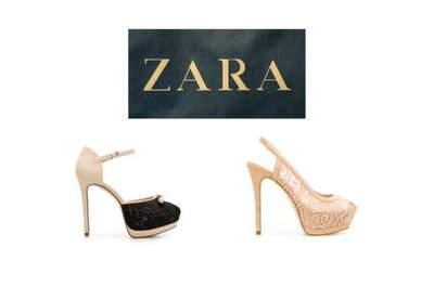 Le 10 migliori scarpe per invitata di Zara secondo Zankyou! Foto www.zara.com